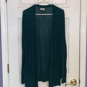Dark green SO cardigan